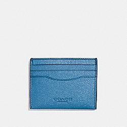 CARD CASE - BLUE JAY - COACH F57102