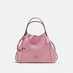 EDIE SHOULDER BAG 28 - DK/DUSTY ROSE - COACH F57124