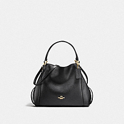 EDIE SHOULDER BAG 28 - LI/BLACK - COACH F57124