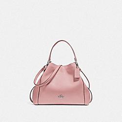 EDIE SHOULDER BAG 28 - SV/BLOSSOM - COACH F57124