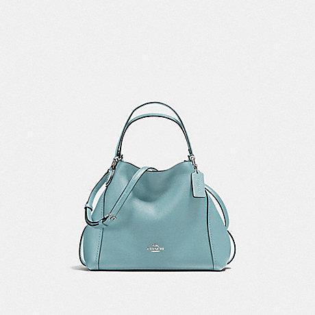 COACH EDIE SHOULDER BAG 28 - CLOUD/SILVER - f57124