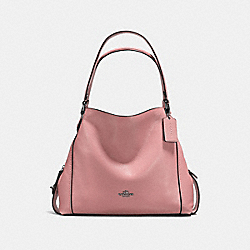 EDIE SHOULDER BAG 31 - DK/DUSTY ROSE - COACH F57125