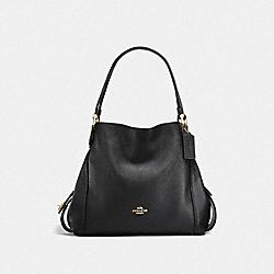EDIE SHOULDER BAG 31 - LI/BLACK - COACH F57125
