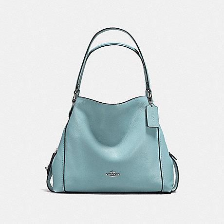 COACH EDIE SHOULDER BAG 31 - CLOUD/SILVER - f57125