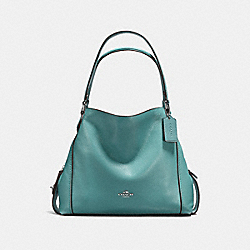 EDIE SHOULDER BAG 31 - SILVER/MARINE - COACH F57125