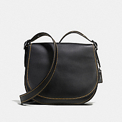 SADDLE - BLACK/BLACK COPPER - COACH F57209