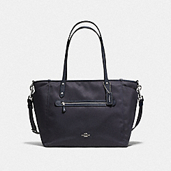 BABY TOTE - SV/NAVY - COACH F57216