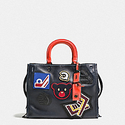ROGUE WITH VARSITY PATCHES - BP/NAVY - COACH F57231