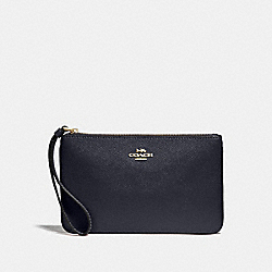 LARGE WRISTLET - MIDNIGHT/GOLD - COACH F57465