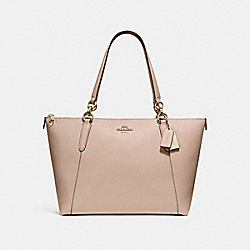 COACH AVA TOTE - NUDE PINK/LIGHT GOLD - F57526