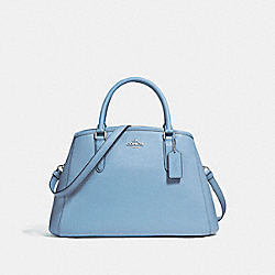 COACH SMALL MARGOT CARRYALL - SILVER/POOL - F57527