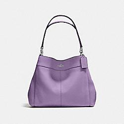 LEXY SHOULDER BAG - SILVER/BERRY - COACH F57545