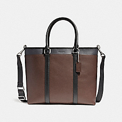 COACH PERRY BUSINESS TOTE IN COLORBLOCK - NIN05 - F57568