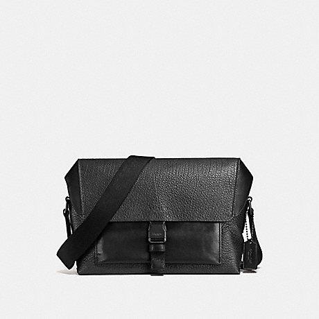 COACH MANHATTAN BIKE BAG - BLACK/BLACK - F57769