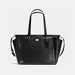 COACH BABY BAG - BLACK/IMITATION GOLD - F57786