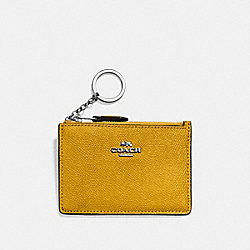 MINI SKINNY ID CASE - SV/MAIZE - COACH F57841
