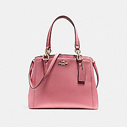 MINETTA CROSSBODY - VINTAGE PINK/IMITATION GOLD - COACH F57847