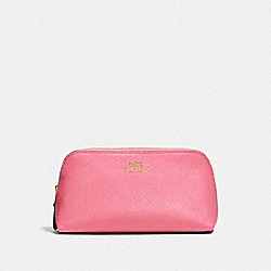 COSMETIC CASE 17 - STRAWBERRY/IMITATION GOLD - COACH F57857