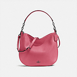 COACH CHELSEA HOBO 32 - Rouge/Dark Gunmetal - F58036