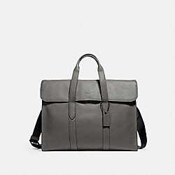 METROPOLITAN PORTFOLIO - QB/HEATHER GREY - COACH F58097