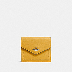 SMALL WALLET - SV/MAIZE - COACH F58298
