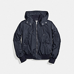 COACH MA-1 JACKET - NAVY - F58346