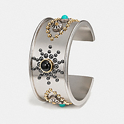 WESTERN RIVETS WIDE CUFF - MULTICOLOR/SILVER - COACH F58484