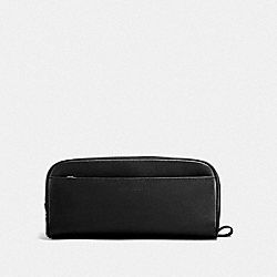 COACH TRAVEL KIT IN SMOOTH CALF LEATHER - BLACK - F58542
