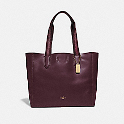 DERBY TOTE - IM/RASPBERRY - COACH F58660