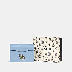 BOXED CARD CASE - SV/CORNFLOWER - COACH F58715