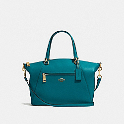 PRAIRIE SATCHEL - f58874 - Atlantic/Light Gold
