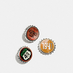 BOTTLE CAP PIN BOX SET - MULTI - COACH F58946