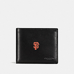 3-IN-1 WALLET WITH MLB TEAM LOGO - SF GIANTS - COACH F58947