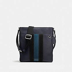 METROPOLITAN SLIM MESSENGER - MIDNIGHT/MINERAL/DARK NICKEL - COACH F59038