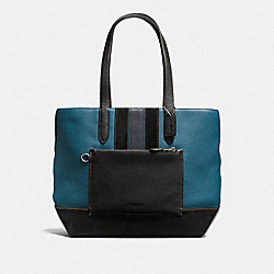 METROPOLITAN SOFT TOTE - MIDNIGHT/MINERAL/DARK NICKEL - COACH F59080