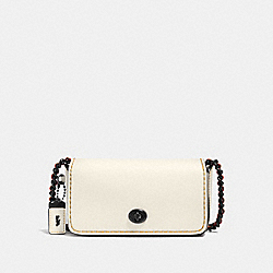 DINKIER - CHALK/BLACK COPPER - COACH F59131