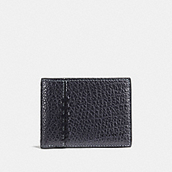 RIP AND REPAIR SLIM BILLFOLD WALLET - MIDNIGHT - COACH F59272