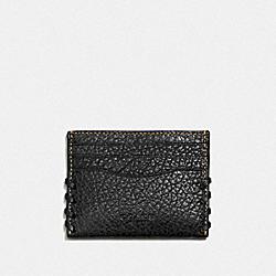 RIP AND REPAIR CARD CASE - BLACK - COACH F59291