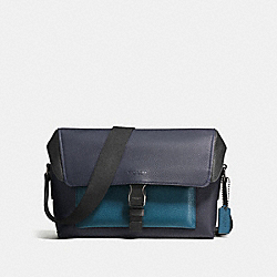 MANHATTAN BIKE BAG - MIDNIGHT/MINERAL/BLACK ANTIQUE NICKEL - COACH F59422