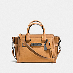 COACH SWAGGER 27 - DK/LIGHT SADDLE - COACH F59505