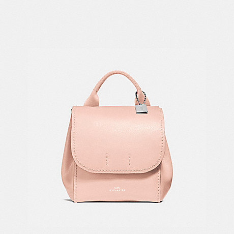 COACH DERBY BACKPACK - SILVER/LIGHT PINK - f59819