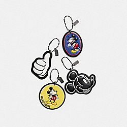 MICKEY HANGTAG SET - MULTICOLOR - COACH F59882