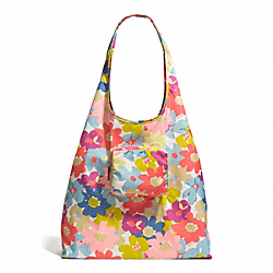 COACH PEYTON FLORAL FOLDING TOTE - ONE COLOR - F60255