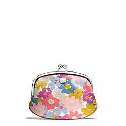 COACH PEYTON FLORAL COIN PURSE - ONE COLOR - F60270
