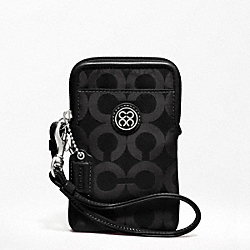 COACH JULIA NYLON UNIVERSAL CASE - ONE COLOR - F60890