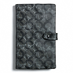 COACH BOWERY LEATHER MULTI C NOTEBOOK - ONE COLOR - F61068
