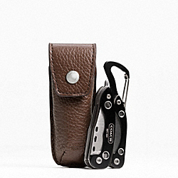 COACH POCKET KNIFE - MAHOGANY 2 - F61187