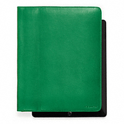 BLEECKER LEATHER TABLET CASE - f61223 - 17899