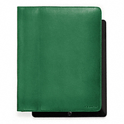 BLEECKER LEATHER TABLET CASE - f61223 - 9407