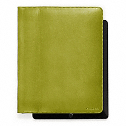 BLEECKER LEATHER TABLET CASE - f61223 - 17900
